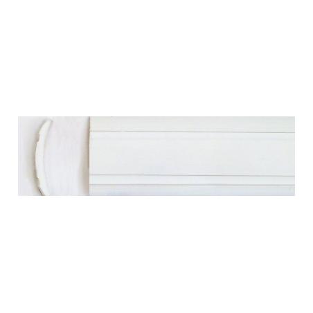 Plastová výplň lišty - biela