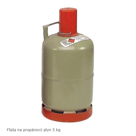 Plynová fľaša 5 kg
