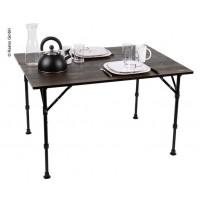 Hliníkový kempingový stôl