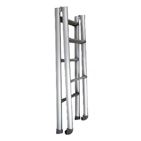 Hlinikový skladací rebrík...