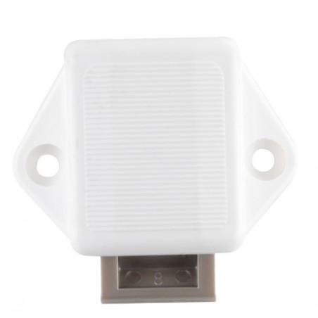 Zámok Mini Push - Lock - biely