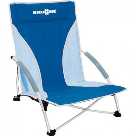Plážová stolička Cuba - modrá