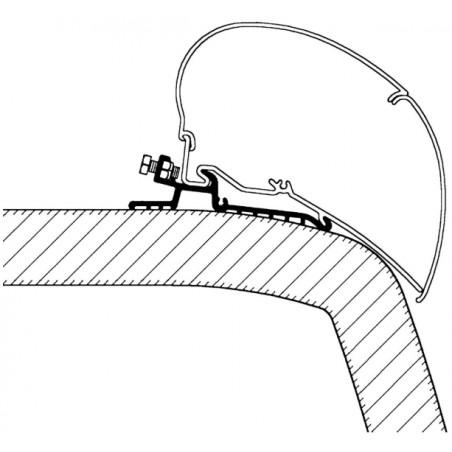 Adapter Hymer SX pre dĺžku 6 m
