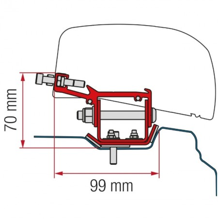 KIT F40VAN RENAULT TRAFIC L2