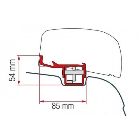 Fiamma Kit F40van VW T5,T6