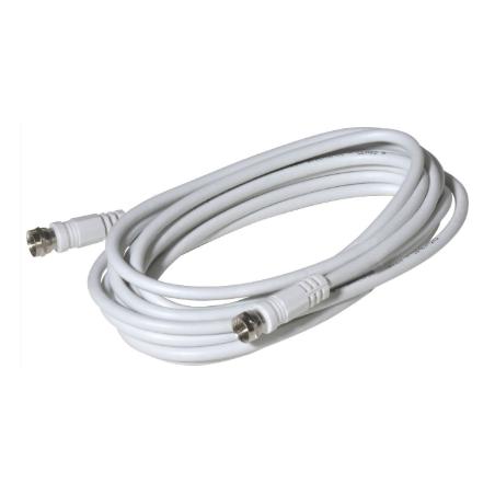 Satelitný kábel s F koncovkami