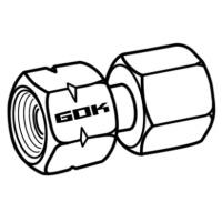 Konektor G 1/4 LH-ÜM x RST 8