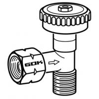 Regulačný ventil 90 ° PS 4 bar