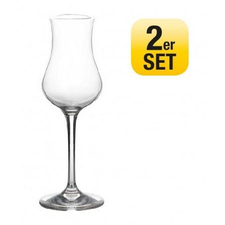 Sada 2 pohárov Grappa Eleganza