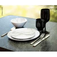 6-dielná sada tanierov Marmor