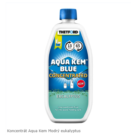 Koncentrát Aqua Kem Blue...