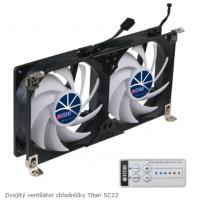 Dvojitý ventilátor...