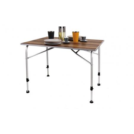 Kempingový hliníkový stôl...