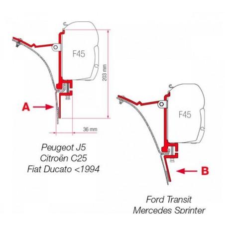 Kit F45 pre Van