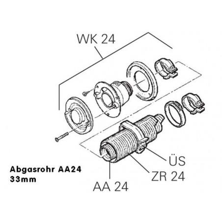 Výfuková rúra AA24- pre...