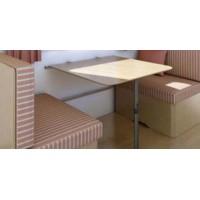 Posuvné uchytenie stola - Sada